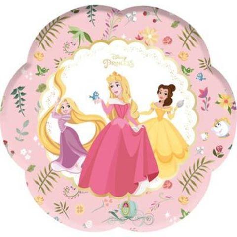 Тарелки Принцессы Правда цветок, 4 штуки