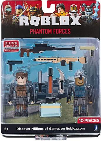 Игровая коллекционная фигурка Jazwares Roblox Game Packs Phantom Forces W6, набор 2 шт.