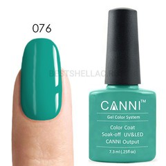 Canni, Гель-лак № 076, 7,3 мл