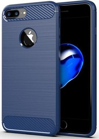 Чехол для iPhone 7 Plus цвет Blue (синий), серия Carbon от Caseport