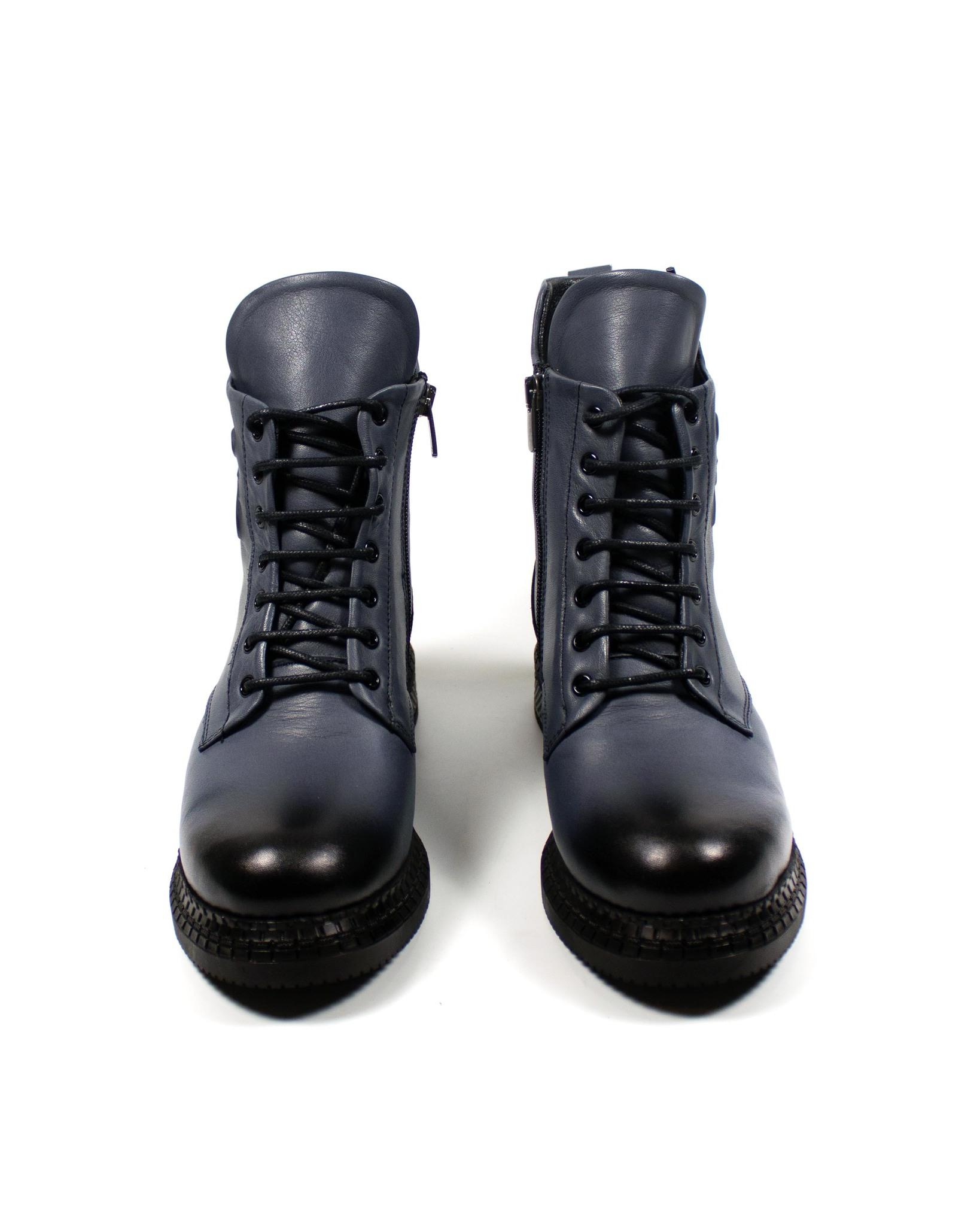 серо-голубые ботинки SM