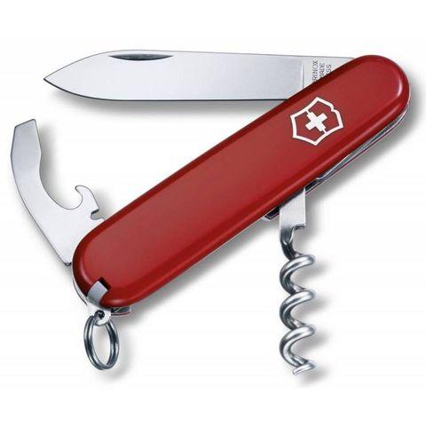 Нож перочинный Victorinox Waiter (0.3303.B1) 84мм 9функций красный блистер