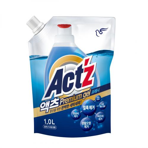 Бытовая химия Гель PIGEON концентрированный для стирки белья ACT'Z Primium Gel Eucalyptus (Pouch 1L) 500x500.3d55d73f5db59032.jpeg