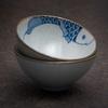 "Пиала ""Рыбка"" керамика Цзиндэчжэнь, 60 мл"