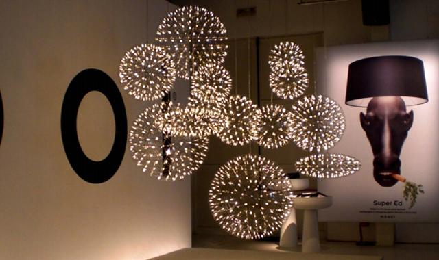 Подвесной светильник копия Raimond Zafu by Moooi (золотой, D 75 cm)