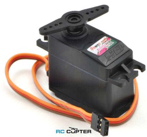 Сервопривод PowerHD 6001HB (5.8-6.7 кг/см, 0.16-0.14 сек/60°, 43г)