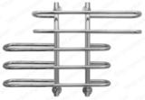 Водяной полотенцесушитель  U42-66  60х60