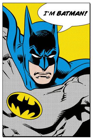 Постер Batman - I'm Batman PP33095