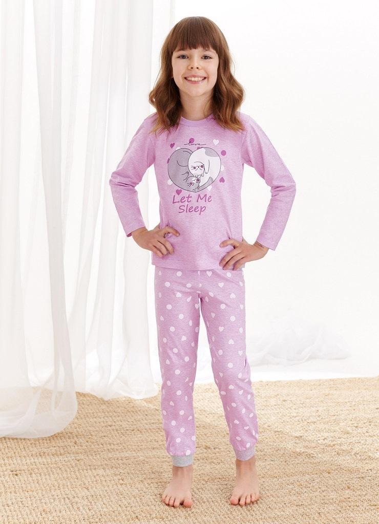 Пижама для девочек со штанами TARO 1164/1165 AW20/21 ELZA