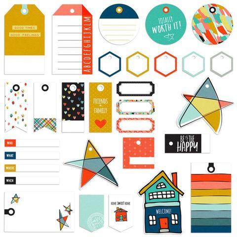 Высечки Family & Co. Decorative Tags