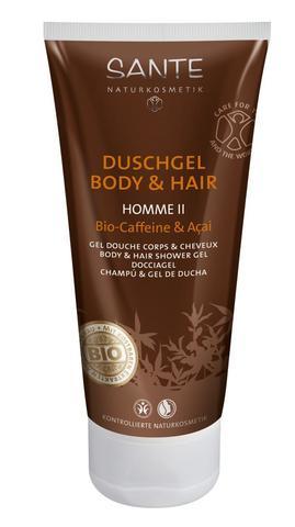 SANTE HOMME II Мужской шампунь-гель для волос и тела