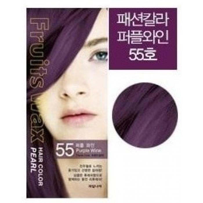 Волосы Краска для волос WELCOS ВЛК Fruits Wax Краска для волос на фруктовой основе Fruits Wax Pearl Hair Color #55 60мл*60гр 155cb4d408c4b8c.jpg