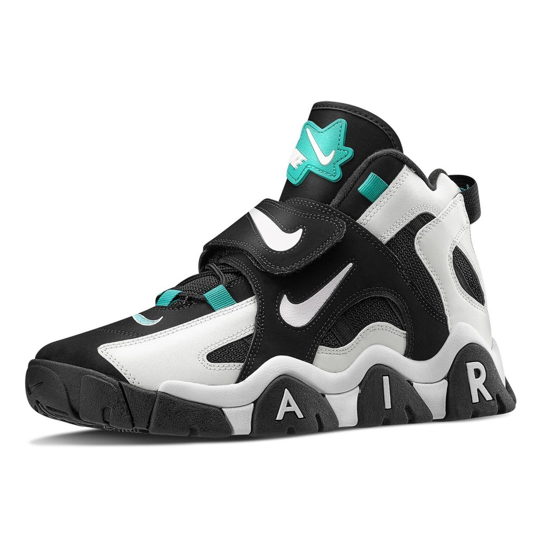 Nike Air Barrage Mid Black/White