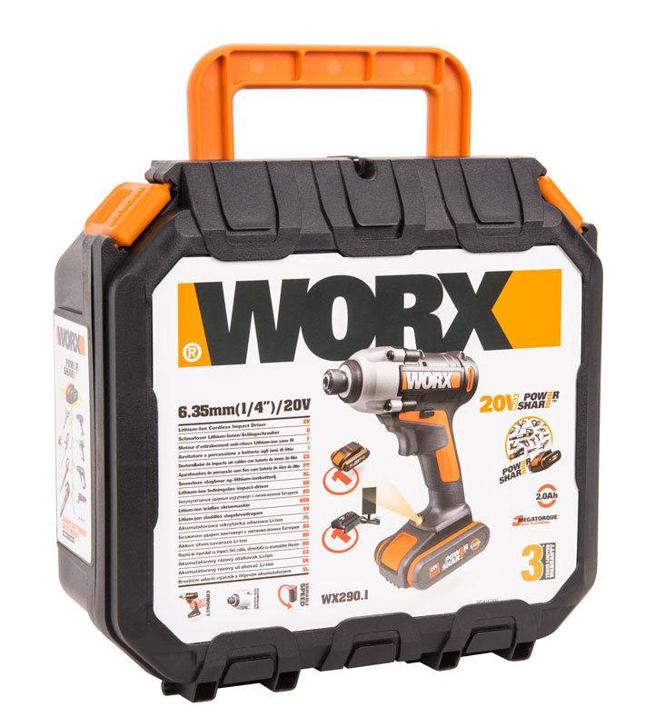 Винтоверт аккумуляторный WORX WX290.1 20В