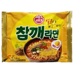 Лапша быстрого приготовления Ottogi Sesame Ramen со вкусом жареного кунжута 115 гр