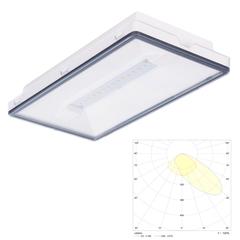 Светильники кососветы аварийного освещения путей эвакуации для высоких потолков Vella LED SCHA IP65 Intelight