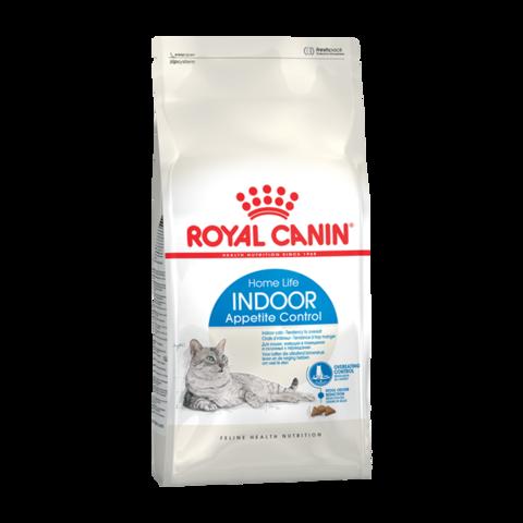 Royal Canin INDOOR APPETITE CONTROL Сухой корм для домашних кошек склонных к перееданию 1-7 лет