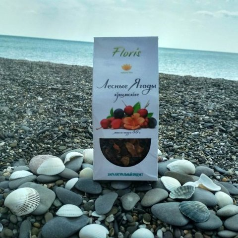 Крымский чай «Лесные Ягоды» 80 грамм™ Floris