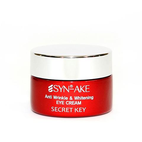 Secret Key Омолаживающий крем для кожи вокруг глаз со змеиным ядом
