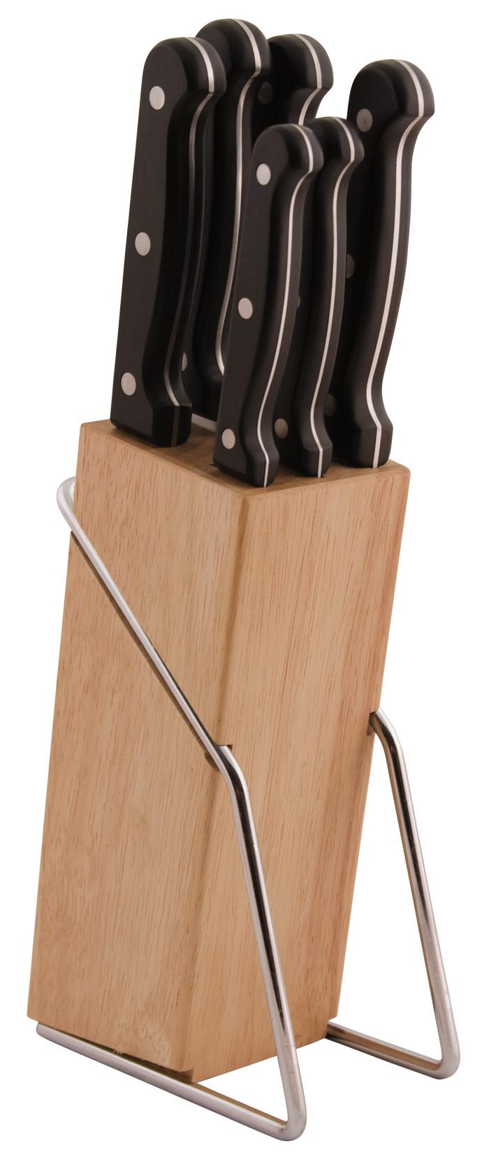 Набор ножей 7 предметов, артикул 24300-SKS01, производитель - Atlantis