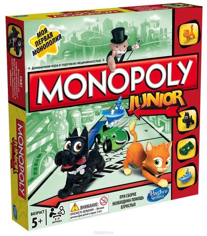 Настольная игра Моя первая монополия