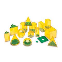 Набор объемных геометрических фигур Взаимосвязи, Learning Resources