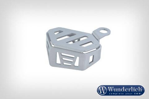 Защита бачка тормоз.жидкости серебро