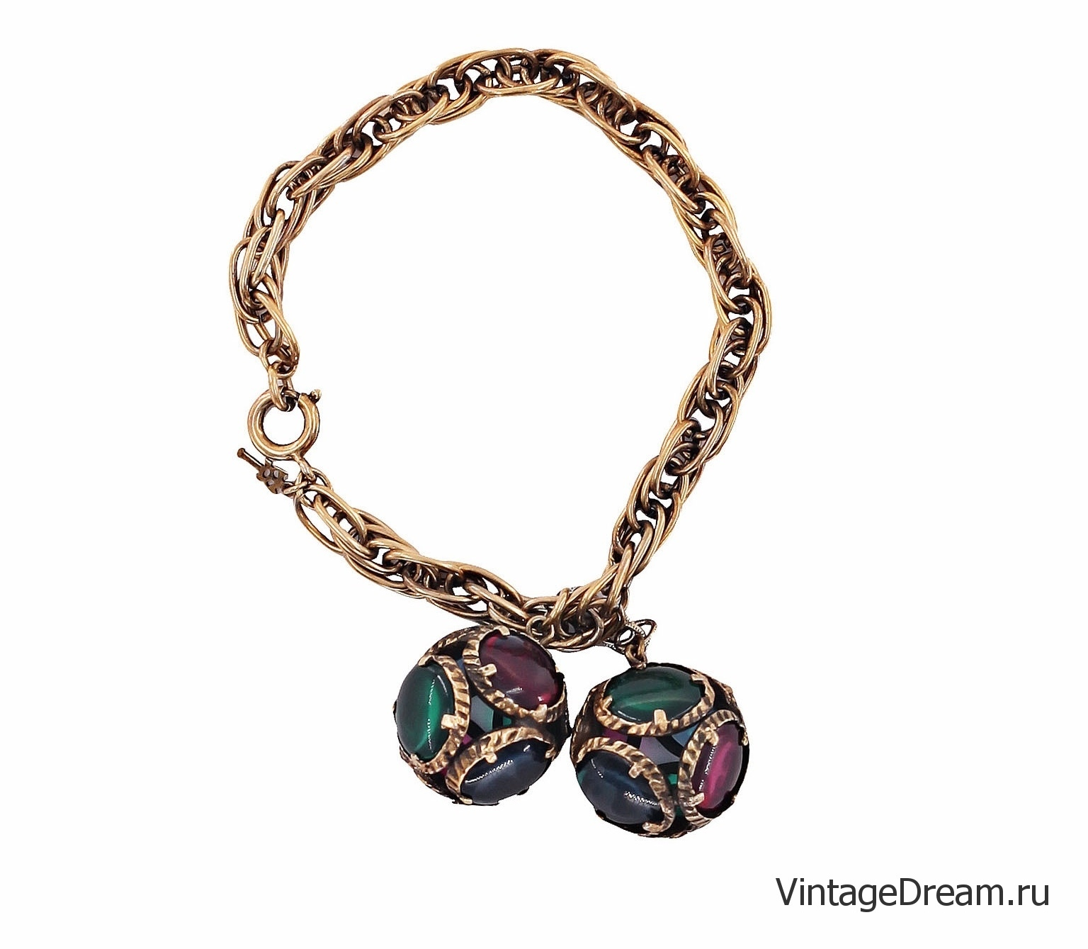 Trifari collectible bracelet from the 1964 Renaissance collection