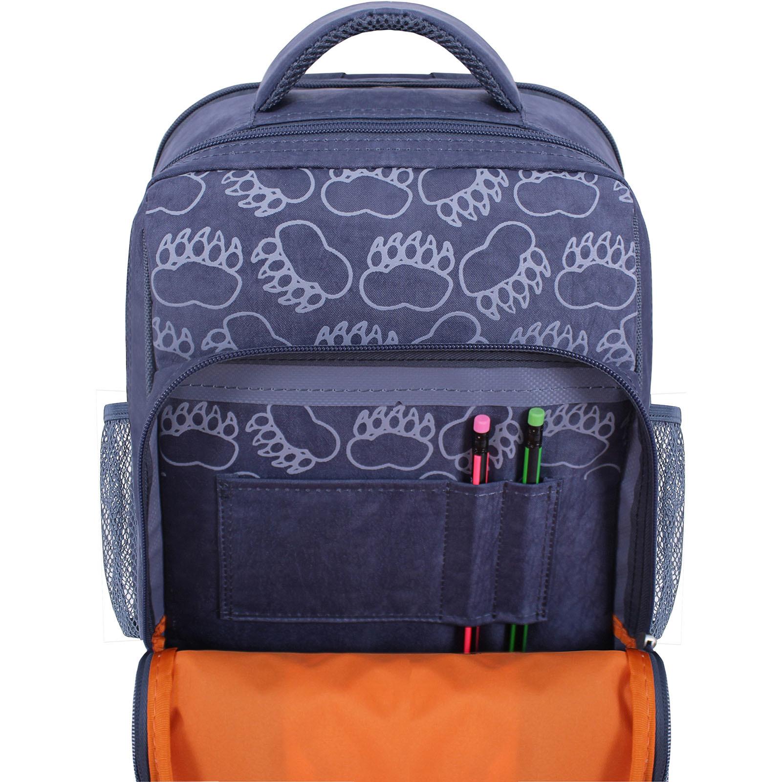 Рюкзак школьный Bagland Школьник 8 л. 321 серый 509 (0012870) фото 4