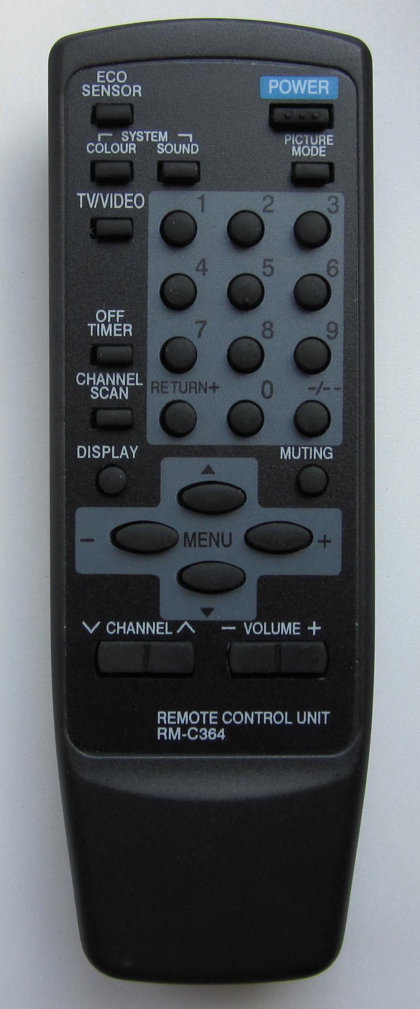 JVC RM-C364