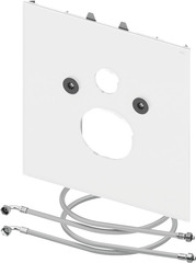 Нижняя стеклянная панель для унитазов TECEone, стекло белое TECE 9650109 фото