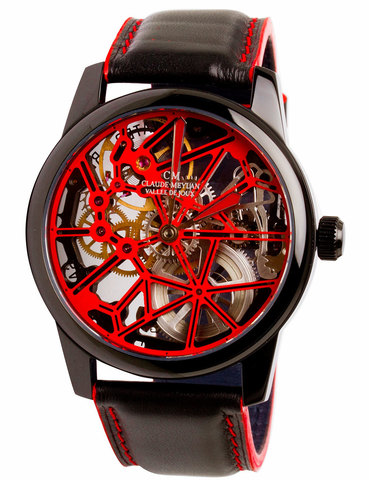 Часы мужские Claude Meylan 6144NR Les Squelettes