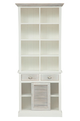 Шкаф книжный Secret De Maison Ривьера (RIVIERA) ( mod.2300А ) — Antique white/white wash