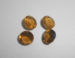 Лимонный кварц 9.1-9,4 мм круг, набор