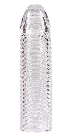 Увеличивающая насадка с ребрами Kanikule - 17 см.