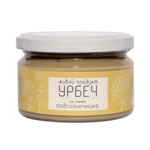 Живой продукт Урбеч из семян подсолнуха 225 гр