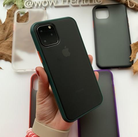 Чехол iPhone 12 /5,4''/ iPaky Cucoloris /green/