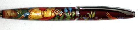 Ручка с росписью Палех № 6