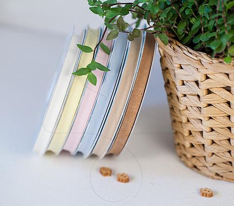 Оrganic, хлопковая тесьма 10 мм, 7 цветов
