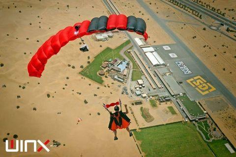 Основной парашют Winx