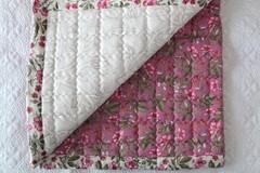 Простыня стеганая GOCHU Hub K 170*210 розовый