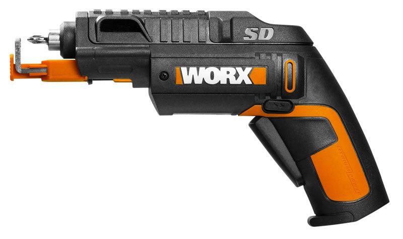 Отвертка аккумуляторная WORX WX255 SD Slide Driver 4В