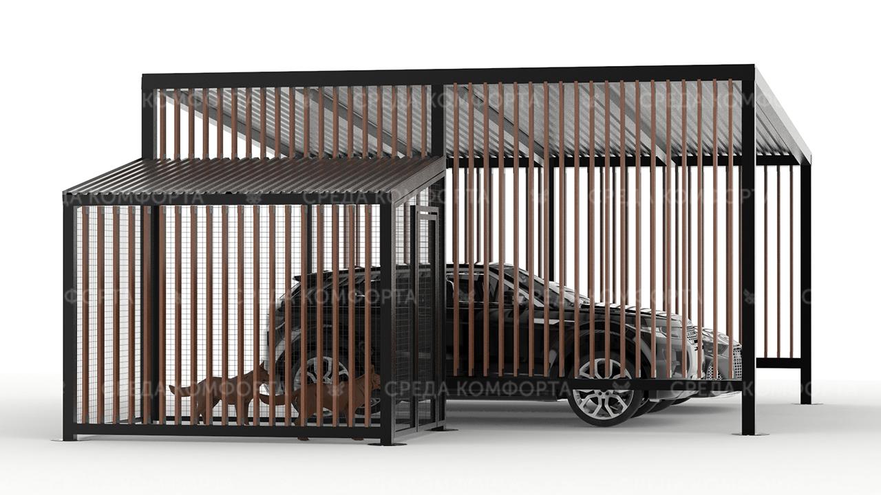 Навес для автомобиля AVNVS0057