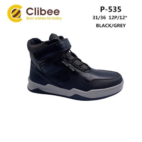 Clibee P535 Black/Grey 31-36