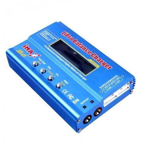 Цифровое зарядное устройство MEGA Technology iMAX B6 60W  для Lipro NiMh Li-ion Ni-Cd аккумуляторов
