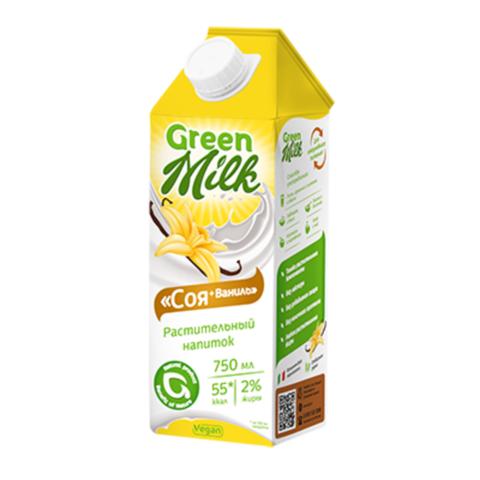 Напиток Соевый+Ваниль (молоко), 0,75л