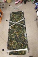 Раскладушка туристическая - походная кровать Медведь 190 до 200 кг.