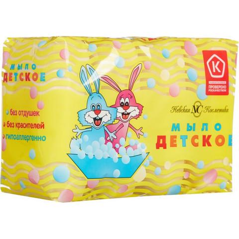 Мыло туалетное Детское в упаковке 4 шт по 100 г