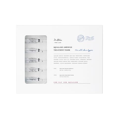 Dr.Althea Pro Lab Маска для лица ДВУХЭТАПНАЯ Squalane Ampoule Treatment Mask, 5 шт*2 мл; 5 шт*27