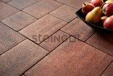 Тротуарная плитка STEINGOT Прямоугольник 200х100х60 (ТЕРРАКОТА)